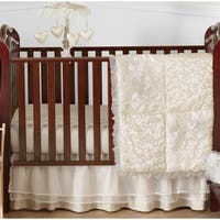 Sweet JoJo Designs Victoria 4-piece Bumperless Crib Bedding Set