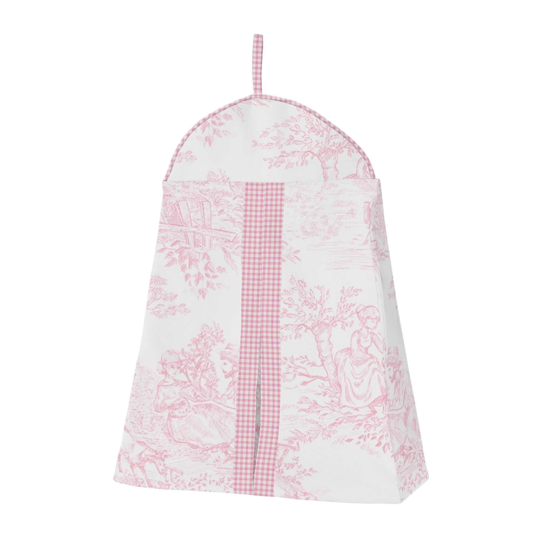 Sweet Jojo Designs Pink Toile 4 Piece Bumperless Crib Bedding Set Overstock 20676684
