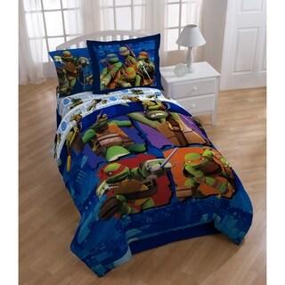 Nickelodeon Teenage Mutant Ninja Turtles City Limits Twin Reversible 2-piece Comforter Set