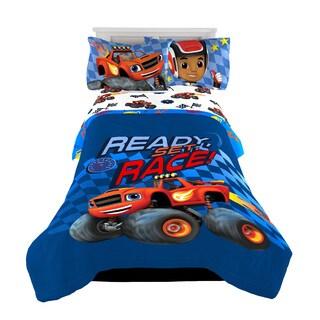 Nickelodeon Blaze High Octane Microfiber Twin/Full Reversible Comforter