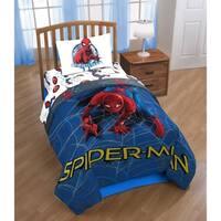 Marvel Spiderman Wall Crawler Reversible Twin Comforter