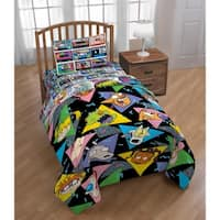 Nick 90's/ Splat Mix Tape Reversible Twin Comforter