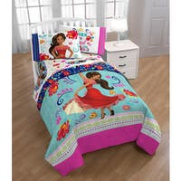 Disney Elena of Avalor Dancing Script Reversible Twin/Full Comforter