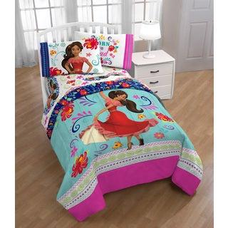 Disney Elena of Avalor Dancing Script Reversible Twin/Full Comforter
