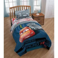 Disney/Pixar Cars 3 Movie Editorial Reversible Twin/Full Comforter