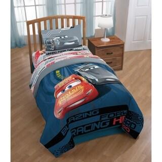 Disney/Pixar Cars 3 Movie Editorial Reversible Twin/Full Comforter