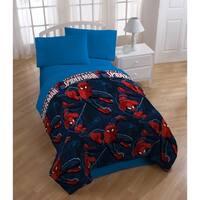 Marvel Spiderman Spider Leap Reversible Twin Comforter