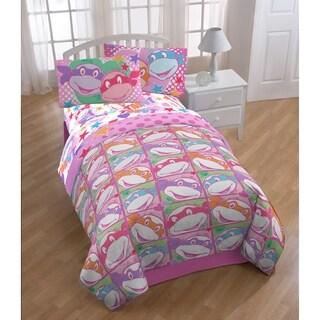 Nickelodeon Teenage Mutant Ninja Turtles Girls Twin Reversible Comforter