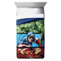 Marvel Avengers 2 Publish Reversible Twin Comforter