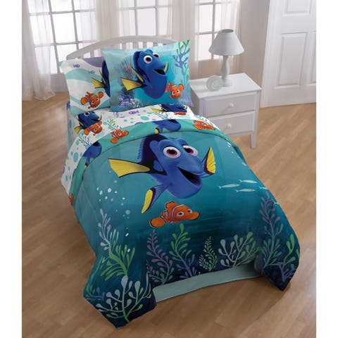 Disney/Pixar Finding Dory Sun Rays 4 Piece Twin Bed In A Bag