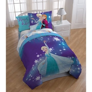 Disney Frozen Magical Winter 4 Piece Twin Bed In A Bag