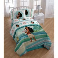 Moana The Wave 4-piece Twin Bed in a Bag Set
