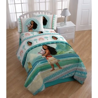 Moana The Wave 4 Piece Twin Bed in a Bag