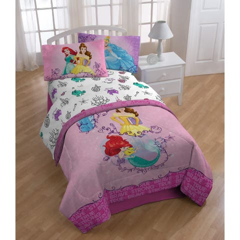 Disney Princess Friendship Adventures 4 Piece Twin Bed In A Bag