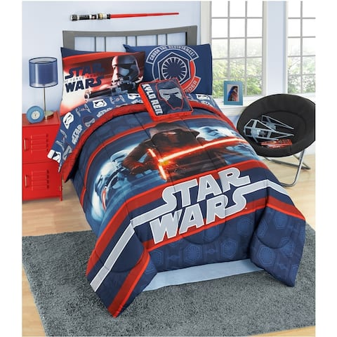 Star Wars Ep7 Kylo Ren 6 Piece Twin Bed In A Bag