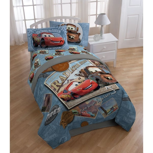 Disney/Pixar Cars Tune Up Reversible Twin/Full Comforter