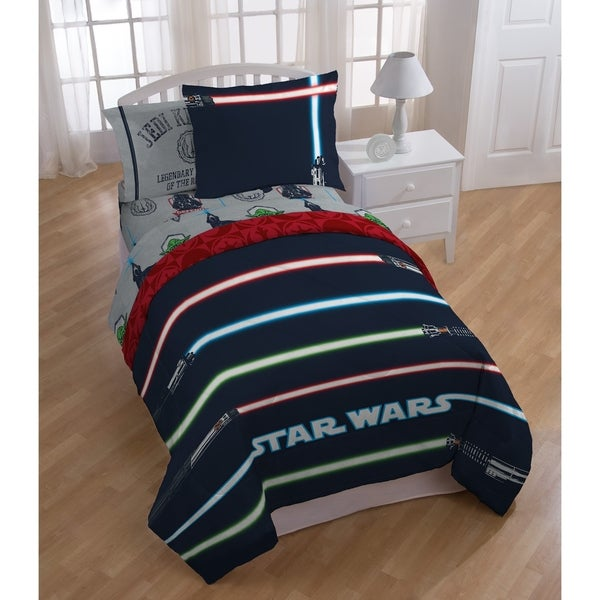 Shop Star Wars Classic Lightsaber 4 Piece Full Bed In A