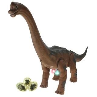 Battery Operated Walking Toy Dinosaur Brachiosaurus