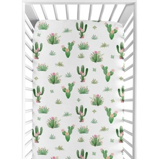 Shop La Baby Fitted Full Size Crib Sheet Free Shipping