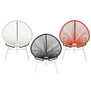 Handmade Acapulco Papasan Lounge Chair, Indoor or Outdoor (China)