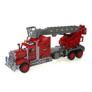 Max Truck Car Friction Powered Toy Fire Truck