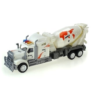 Max Truck Car Friction Powered Toy Mixer Truck