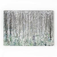 Graham & Brown Watercolour Woods Printed Canvas