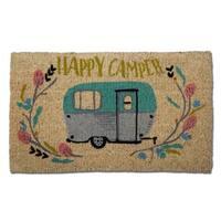 TAG Happy Camper Coir Mat
