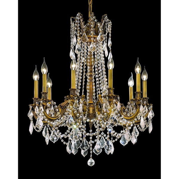 Fleur Illumination 10 light French Gold Chandelier