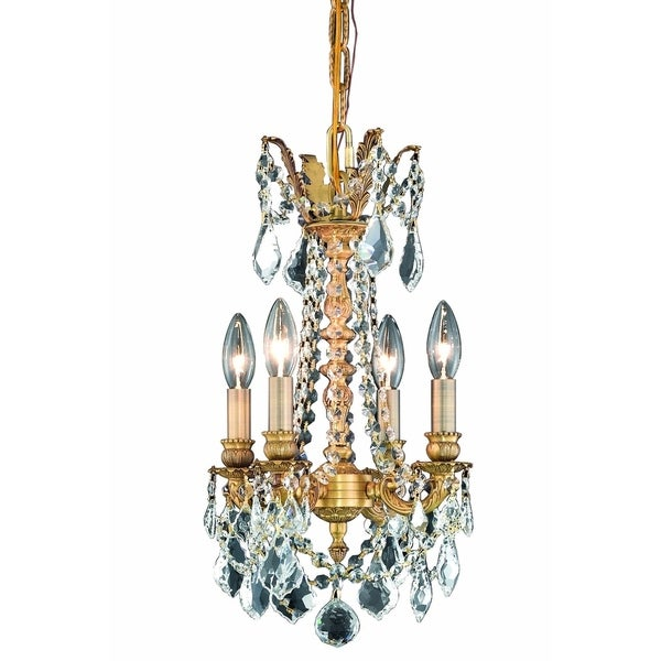 Fleur Illumination 4 light French Gold Pendant