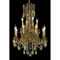 Fleur Illumination 12 light French Gold Chandelier