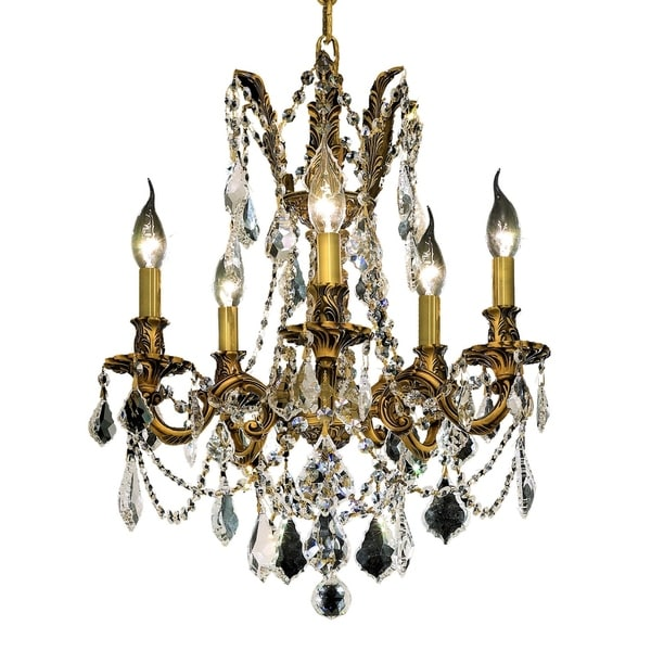Fleur Illumination 5 light French Gold Pendant
