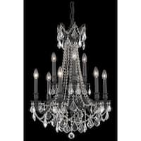 Fleur Illumination 9 light Dark Bronze Chandelier