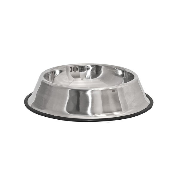 ALEKO Stainless Steel Pet Dog Cat Puppy Food Bowl 10 inch. Opens flyout.
