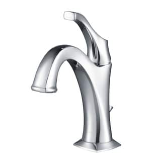 Kraus KBF-1201 Arlo Single Hole 1-Handle Bathroom Basin Faucet, Drain