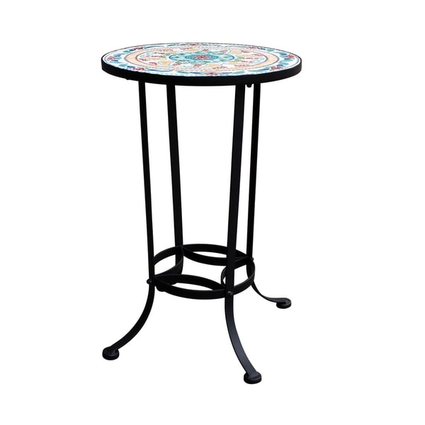 14In Mosaic Side Table