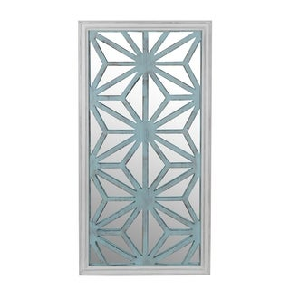 Privilege mirror wall decor. Featuring Wood body, 23.5x2.5x46.5 Mirror: 23x45.5.