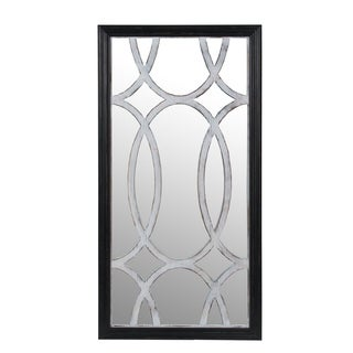 Privilege mirror wall decor. Featuring Wood body, 23.5x2.5x46.5, Mirror: 23x45.5.