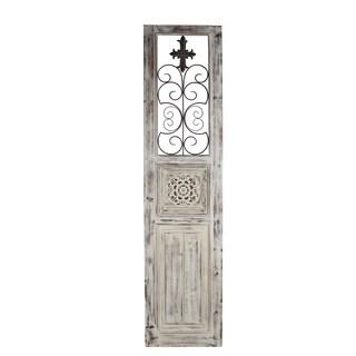 Privilege antique white wall panel