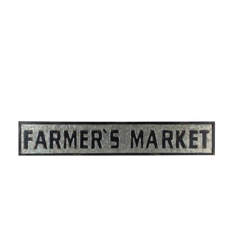 Privilege farmers market decor sign