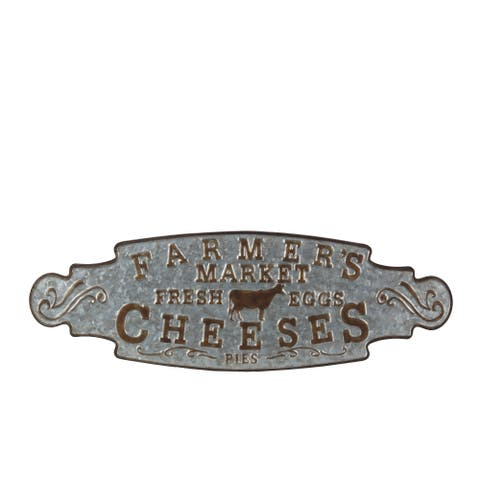 Privilege farmers cheese decor sign