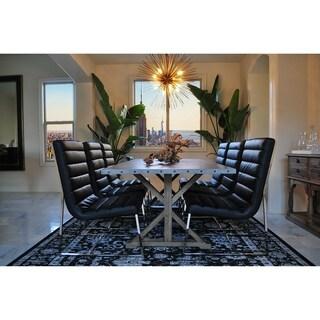 SOLIS Armis 7-Piece Dining Set, Galvanized Table Top