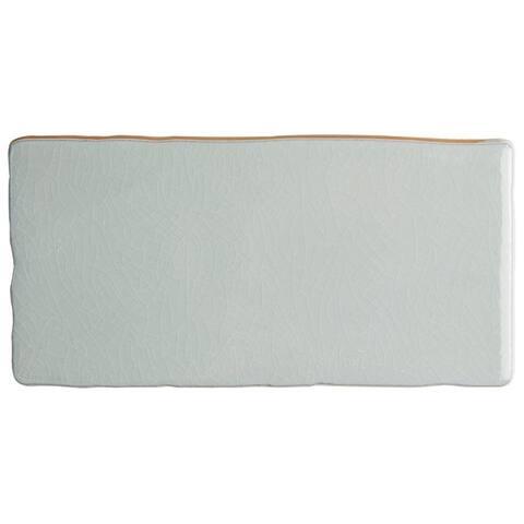 SomerTile 3x6-inch Antiguo Craquelle Gris Soho Ceramic Wall Tile (32 tiles/4 sqft.)