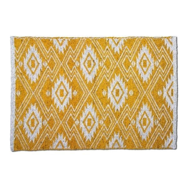 Shop Tag Folk Poly Indoor Outdoor Rug Free Shipping On