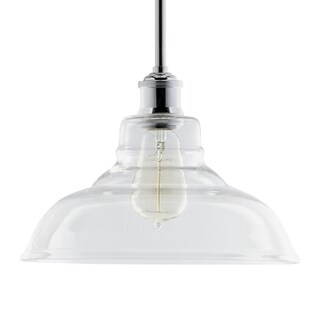 HomeSelects Industrial Chic Vintage Bulb Pendant Light