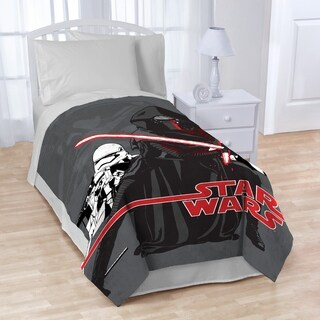 "Star Wars Plush 62"" X 90"" Twin Blanket"