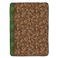 Minecraft Grass Twin Blanket