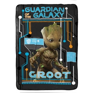 "Marvel Guardians of The Galaxy 2 Wanted Plush Twin Blanket, 62"" x 90"""