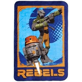 """Star Wars Rebels 62"""" x 90"""" Twin Blanket"""