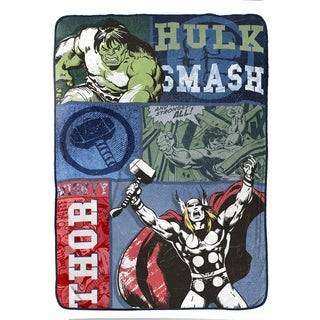 Marvel Thor Mighty Plush Twin Blanket